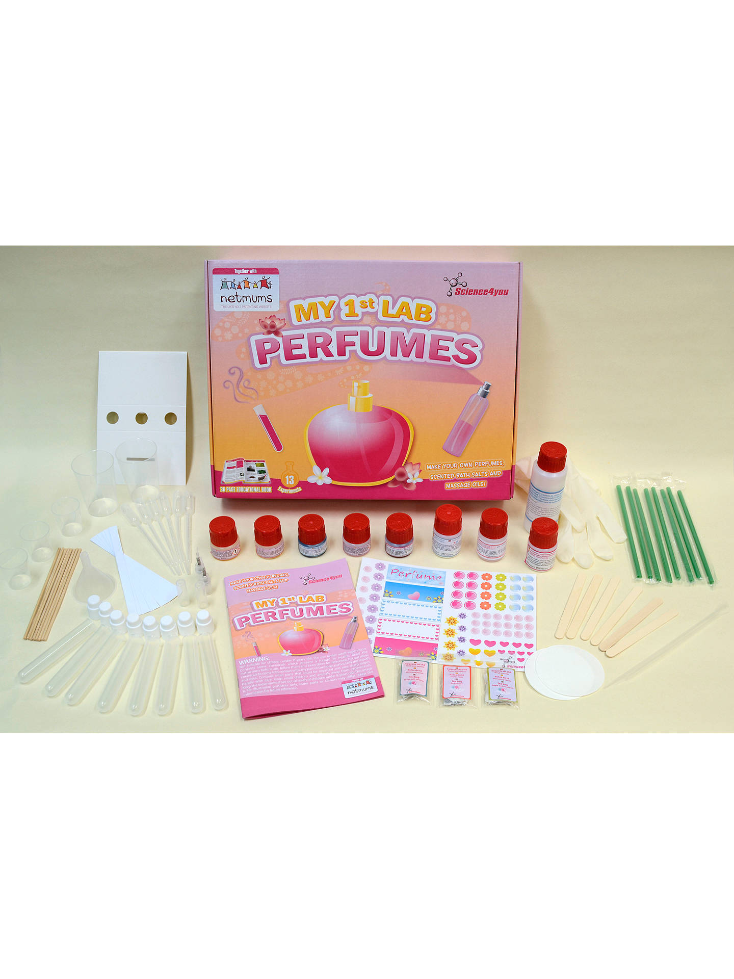 BuyScience4you My 1st Lab Perfumes Kit Online at johnlewis.com