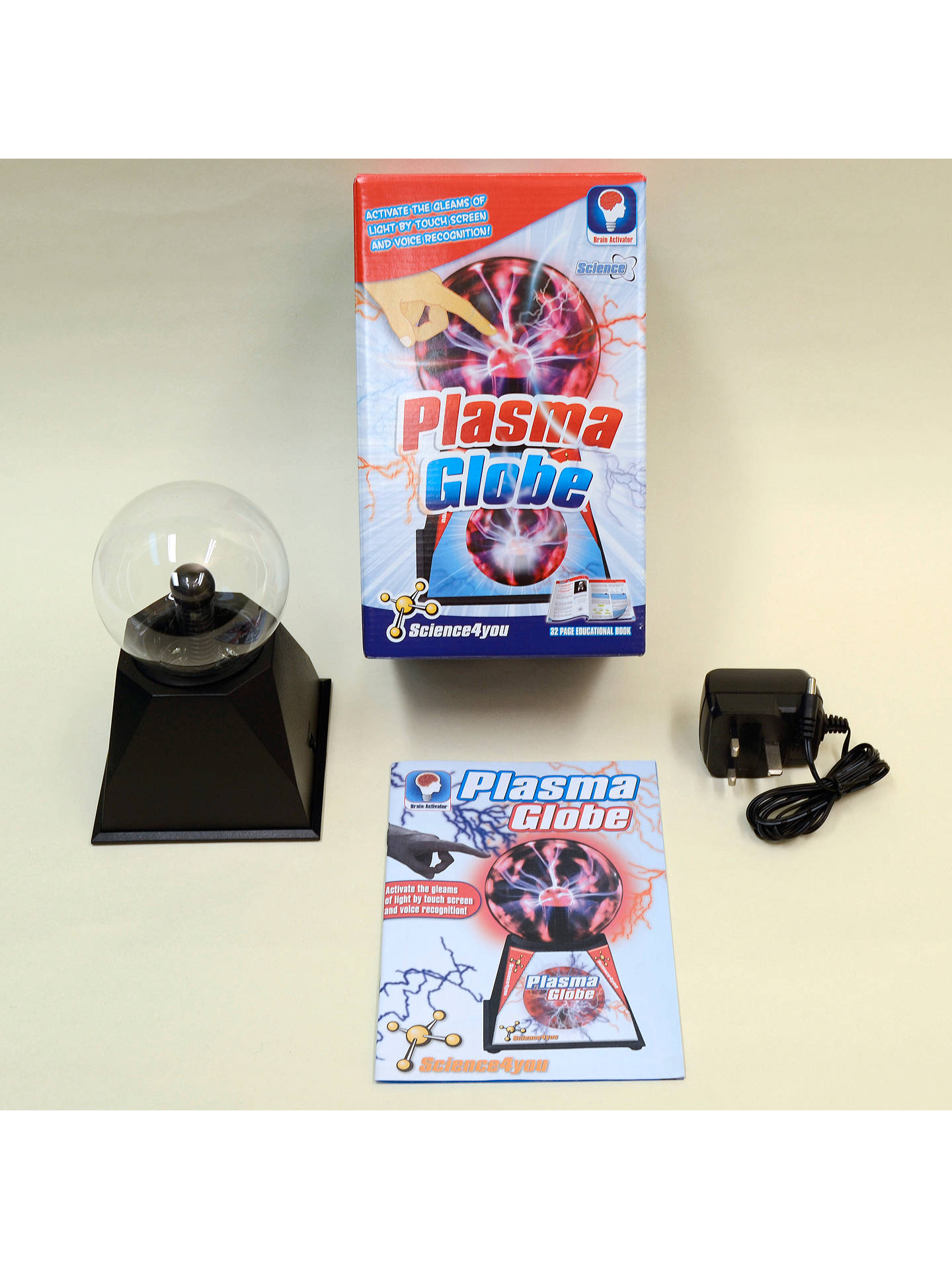 Buy Science4you Plasma Globe Online at johnlewis.com