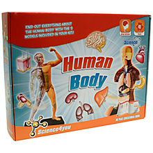 Buy Science4you Human Body Kit Online at johnlewis.com