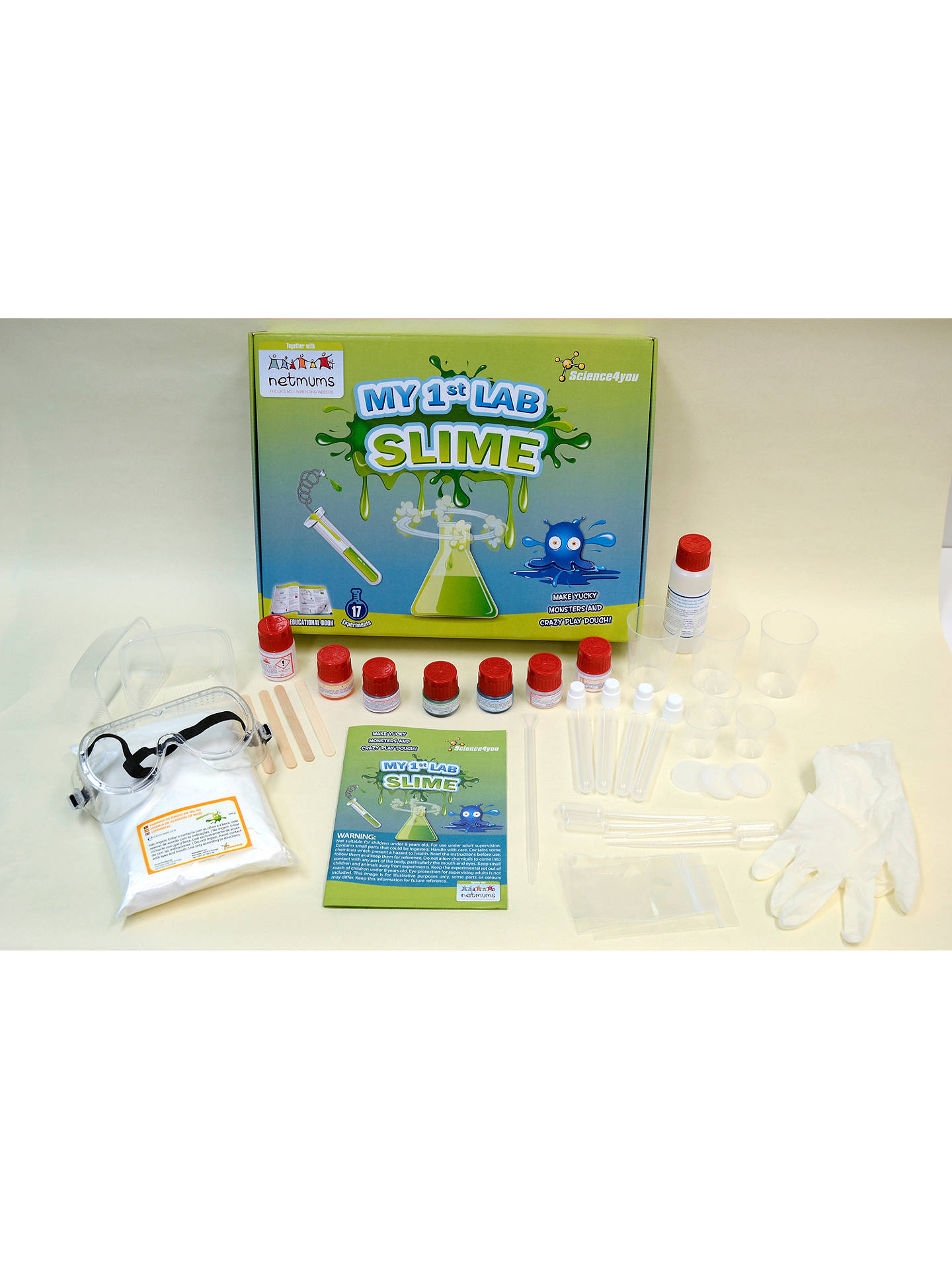 BuyScience4you My 1st Lab Slime Kit Online at johnlewis.com