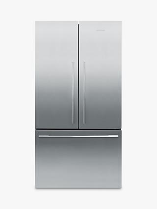 Fisher & Paykel RF522ADX4 American-Style 60/40 Fridge Freezer, A+ Energy Rating, 79cm Wide, Stainless Steel