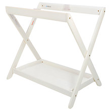 Buy Uppababy 2015 Carrycot Stand, White Online at johnlewis.com