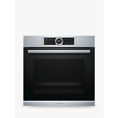 Image of Bosch HBG674BS1B 71 Litre Multifunction Electric Built-in Single Oven Stainless Steel
