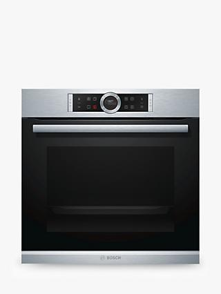 Bosch HBG674BS1B Single Pyrolytic Electric Oven, Stainless Steel