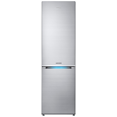 Image of Samsung RB36J8799S4 Chef Collection Freestanding Fridge Freezer, A+++ Energy Rating, 60cm Wide, Refined Steel