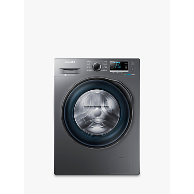 Samsung WW90J6410CX Freestanding Washing Machine, 9kg Load, A+++ Energy Rating, 1400rpm Spin, Graphite