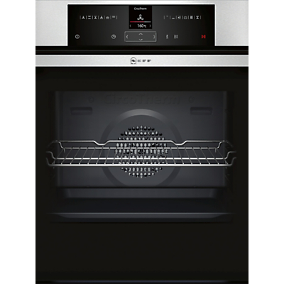 Neff B15CR32N1B Built-In Single Electric Oven, Stainless Steel