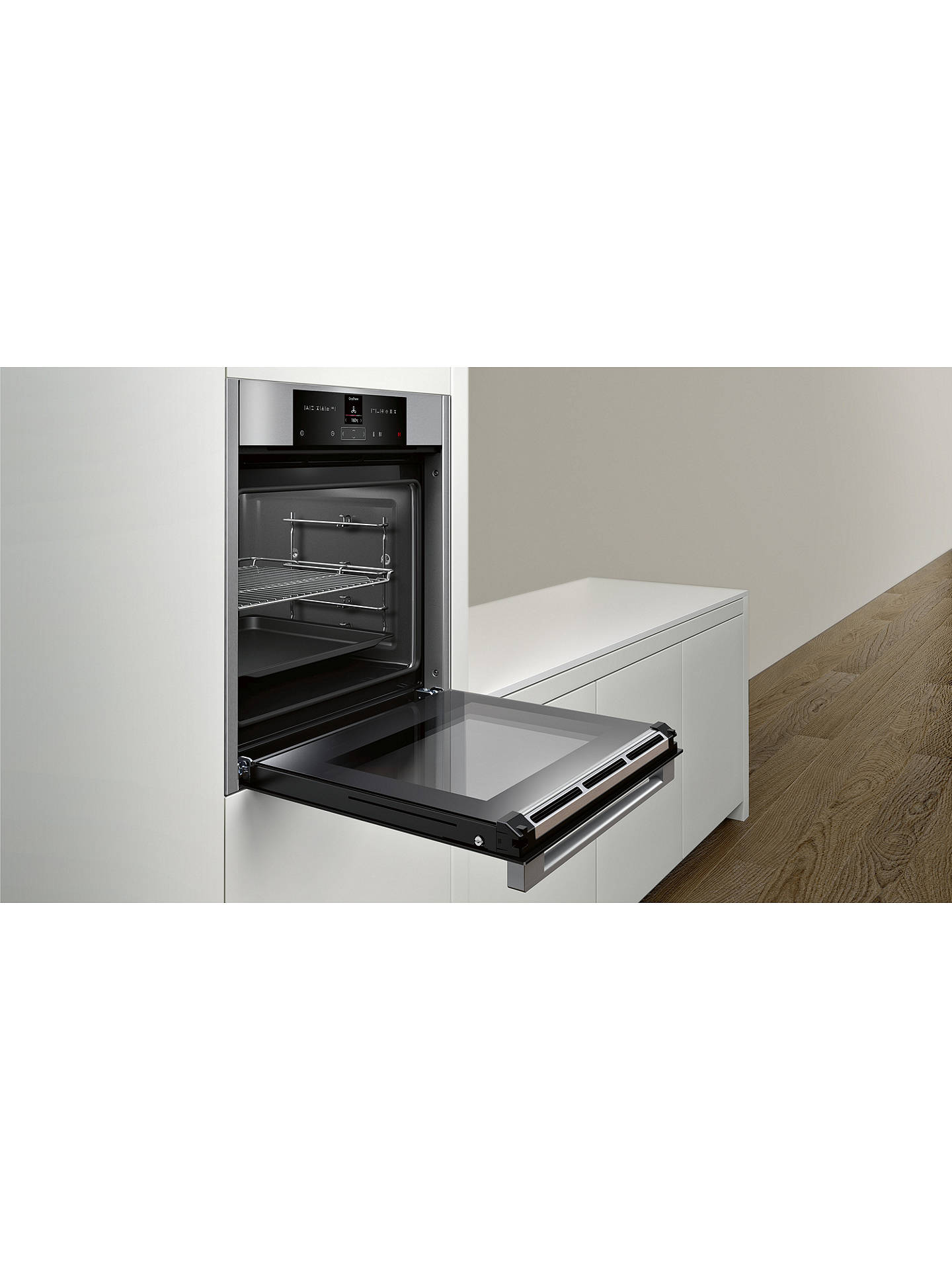 Buy Neff B15CR32N1B Built-In Single Electric Oven, Stainless Steel Online at johnlewis.com