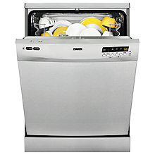 Buy Zanussi ZDF26011XA Freestanding Dishwasher, Stainless Steel Online at johnlewis.com
