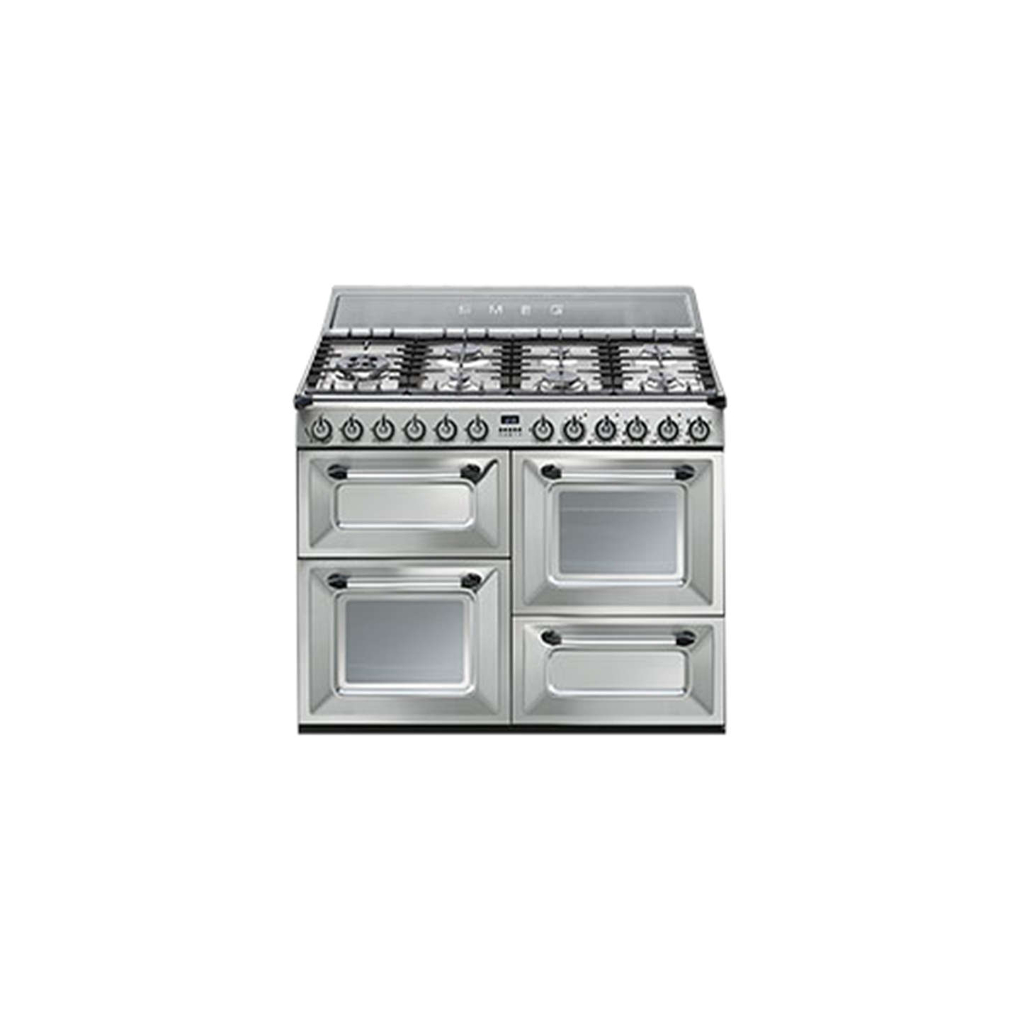 BuySmeg TR4110X Duel Fuel Range Cooker, Stainless Steel Online at johnlewis.com
