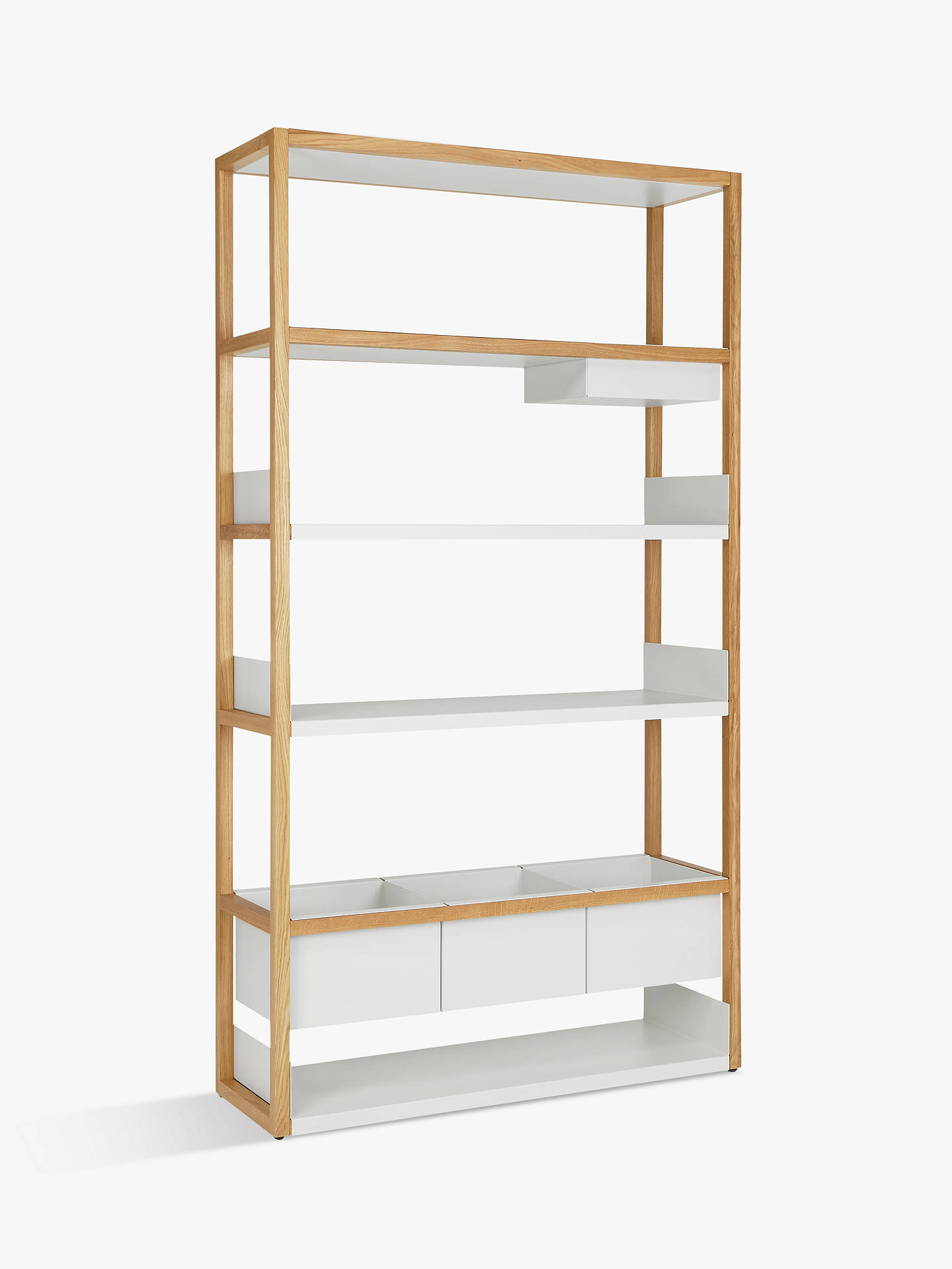 7464148fd83a Buy Case Lap Tall Shelving Unit V2 Online at johnlewis.com ...