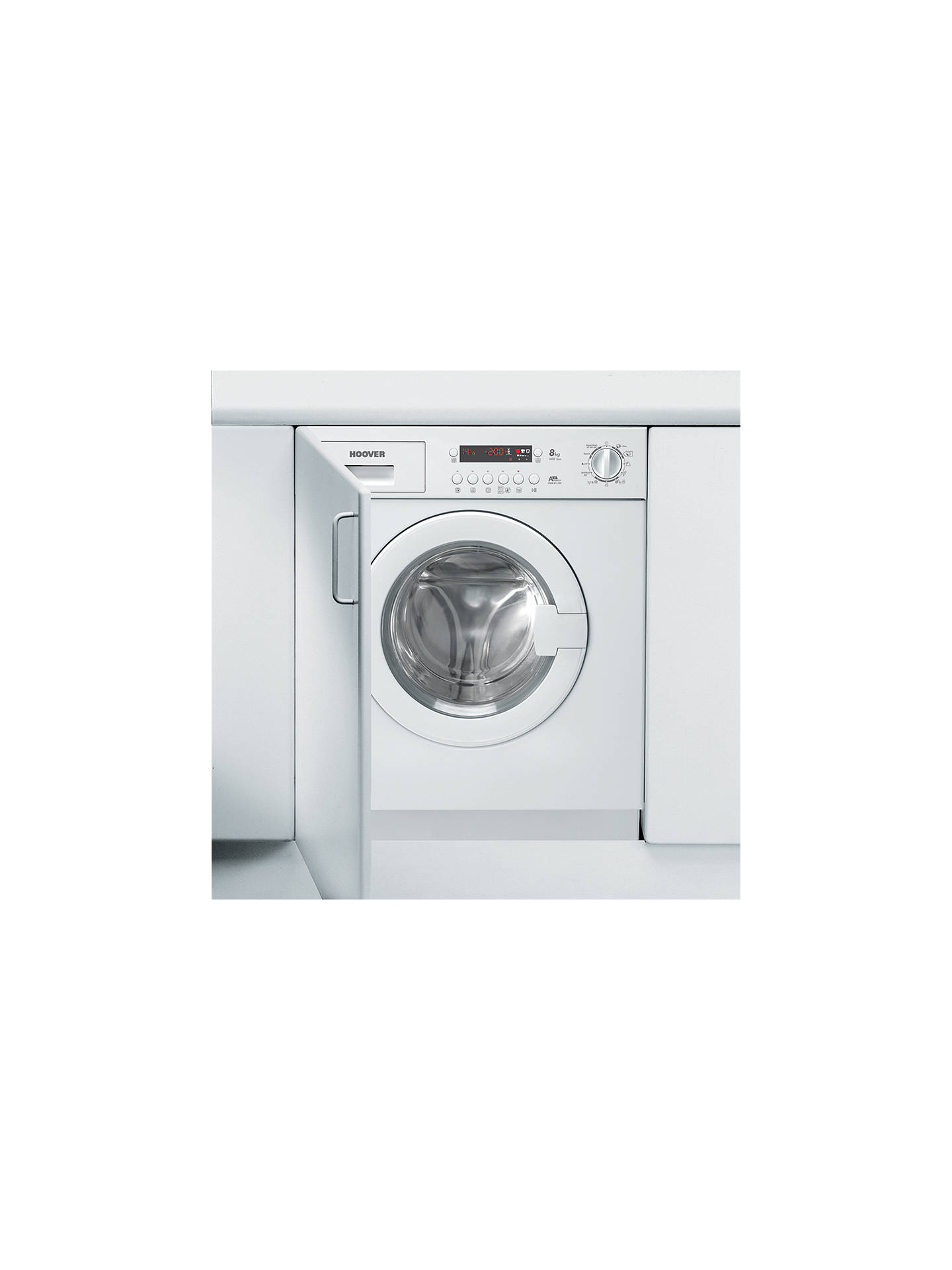 Hoover Hwb814dn1 Integrated Washing Machine 8kg Load A Energy Wiring Diagram Buyhoover Rating 1400rpm Spin