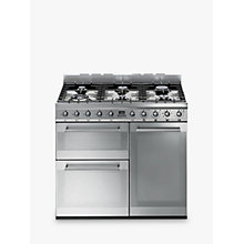 Buy Smeg SY93 Symphony Dual Fuel Range Cooker, Stainless Steel Online at johnlewis.com