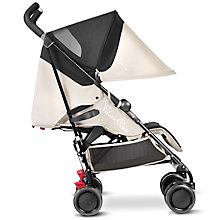 Buy Silver Cross Pop Stroller, Sand Online at johnlewis.com