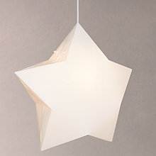 Buy little home at John Lewis Star Pendant Ceiling Light Online at johnlewis.com
