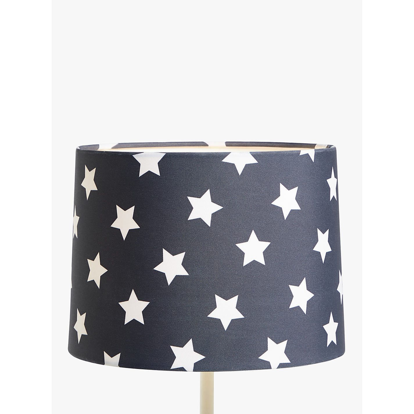 Lampshades childrens lighting john lewis buy little home at john lewis star lampshade navy online at johnlewis mozeypictures Images