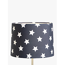 Buy little home at John Lewis Star Lampshade, Navy Online at johnlewis.com