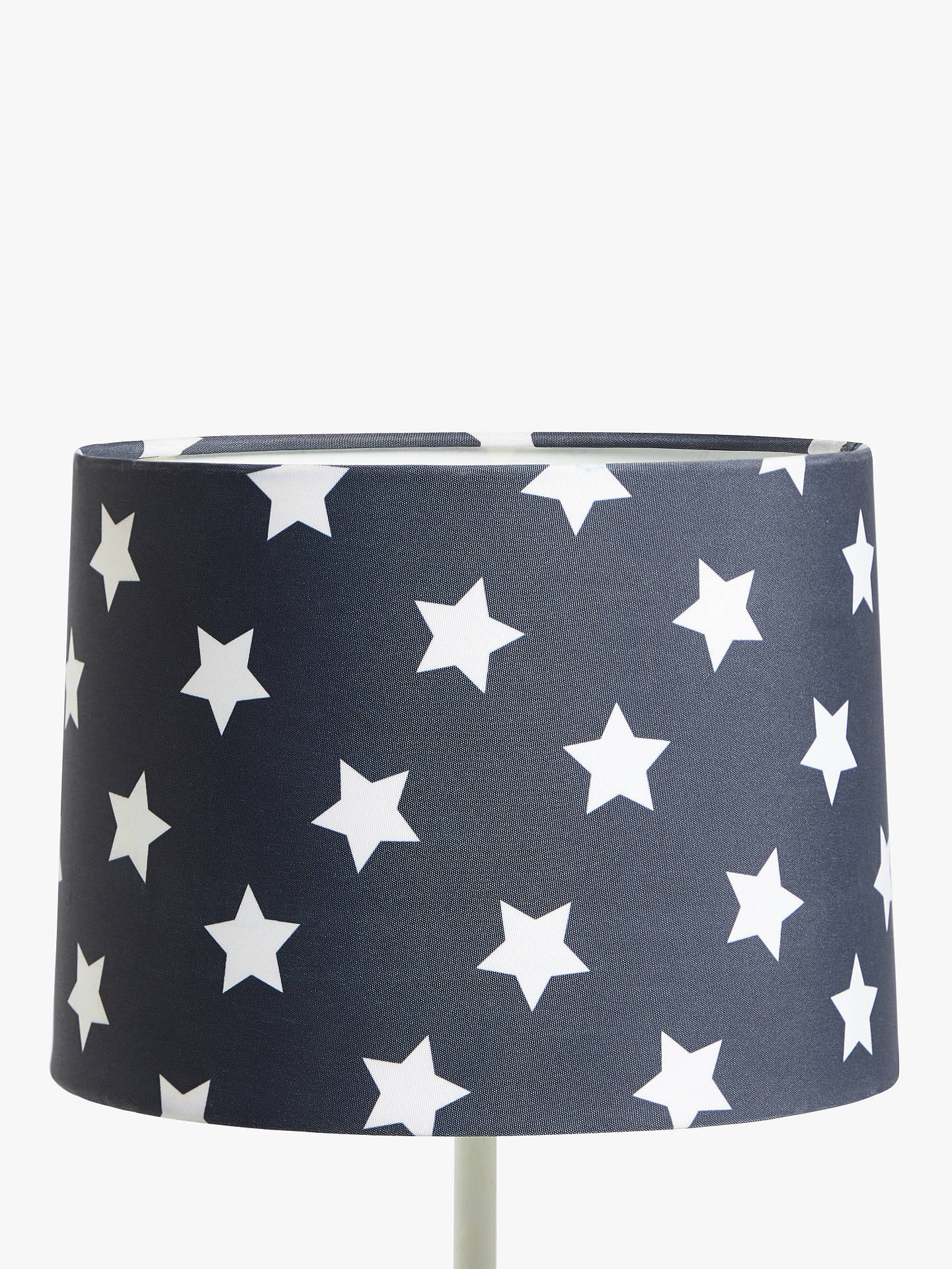 Buylittle home at John Lewis Star Lampshade, Navy Online at johnlewis.com