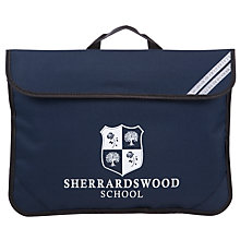 Buy Sherrardswood School Unisex Book Bag, Navy Blue Online at johnlewis.com