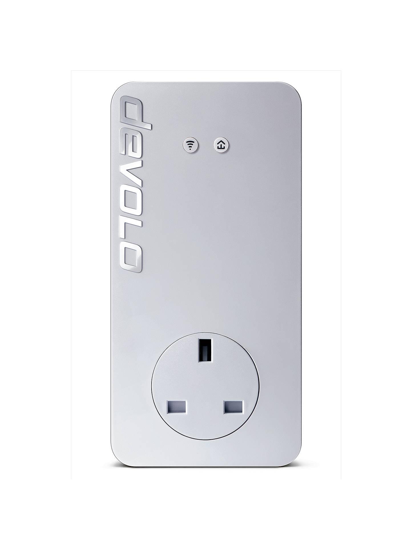 Devolo dLAN 1200+ WiFi ac Powerline Single Adapter at John