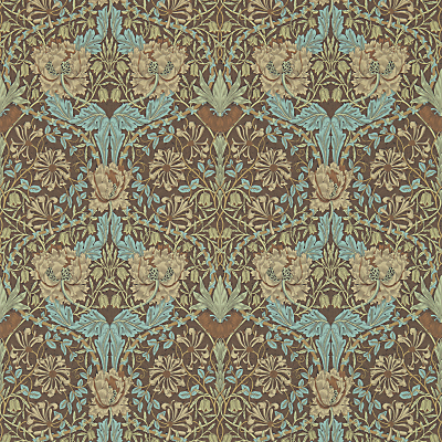 Image of Morris & Co. Honeysuckle & Tulip Wallpaper