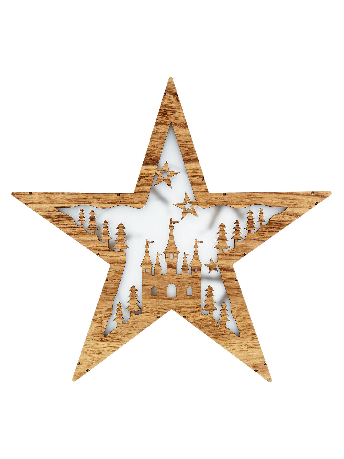 V Pro Dimmer >> John Lewis Natural Holographic Star Christmas Light, Warm ...
