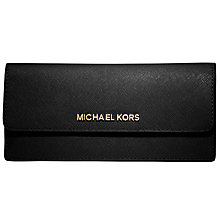 Buy MICHAEL Michael Kors Jet Set Travel Flat Saffiano Wallet Online at johnlewis.com