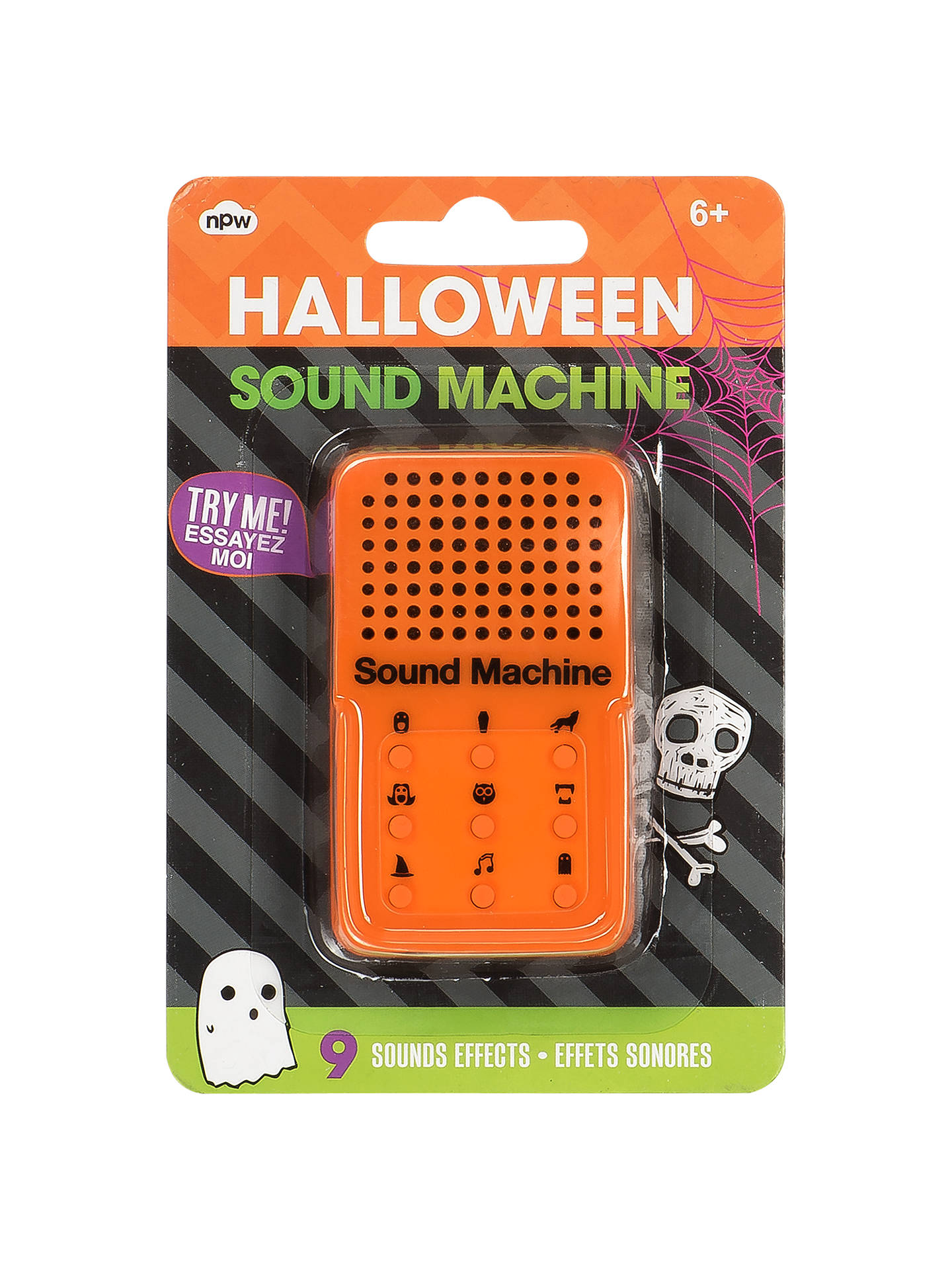 NPW Halloween Mini Sound Machine at John Lewis & Partners