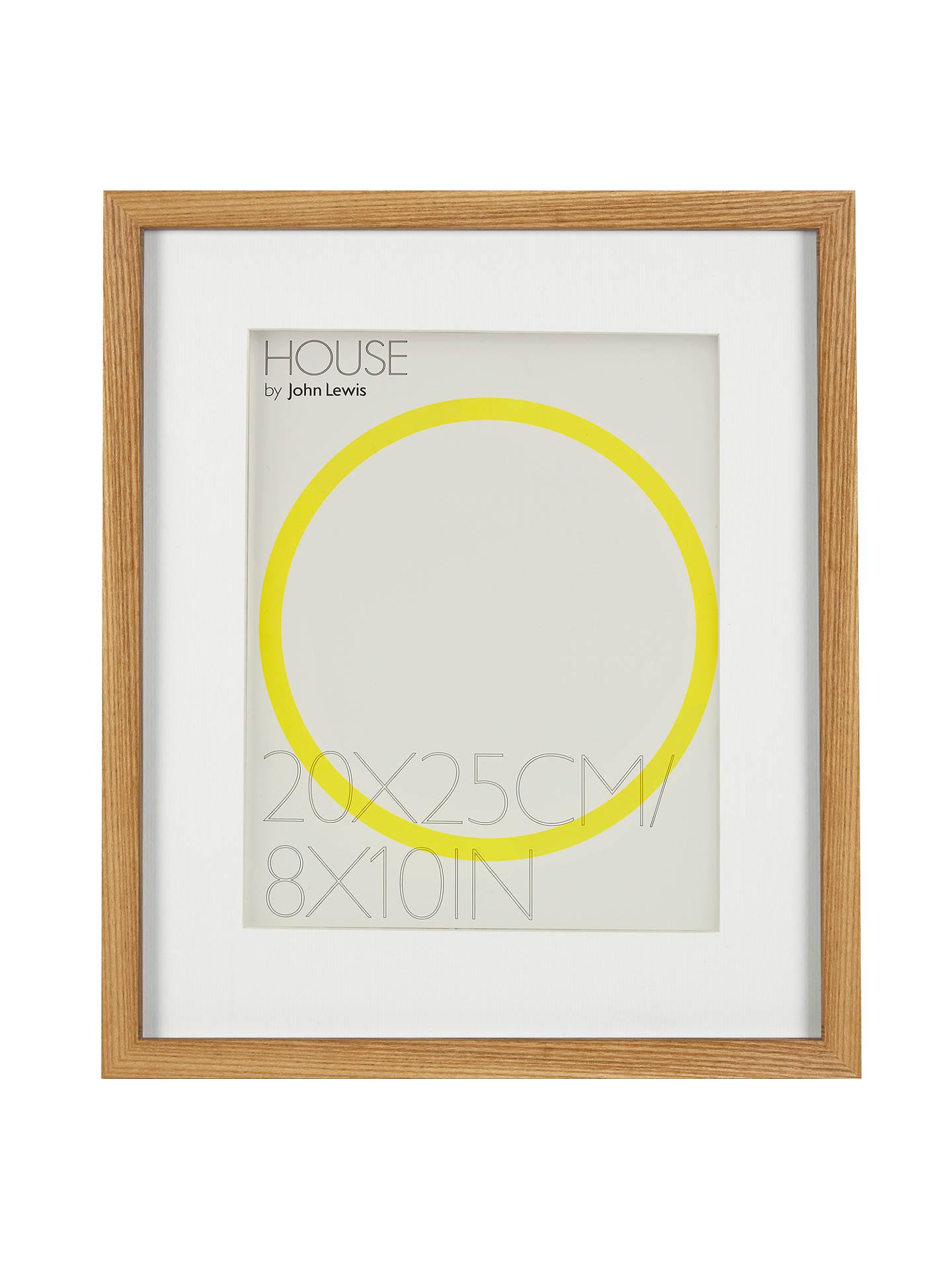 John Lewis & Partners Box Photo Frame & Mount FSC-Certified, 8 x 10 ...