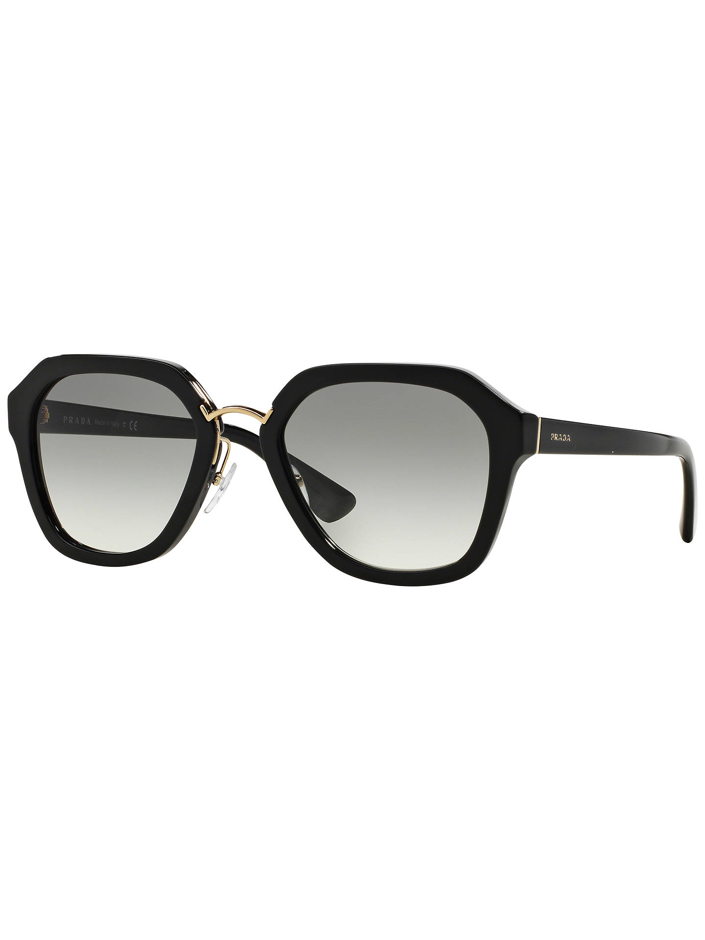 c55060399e5 Prada PR25RS Cinema Sunglasses at John Lewis   Partners
