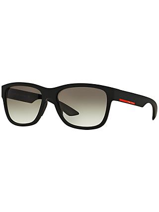 Prada Linea Rossa PS03QS Rectangular Framed Sunglasses