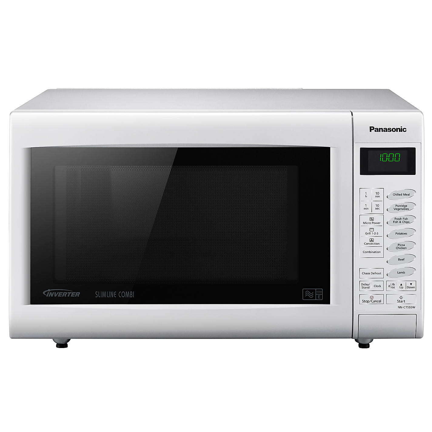 Panasonic Nn Ct555w Combination Microwave White Online At Johnlewis