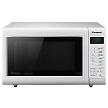Buy Panasonic NN-CT555W Combination Microwave, White Online at johnlewis.com
