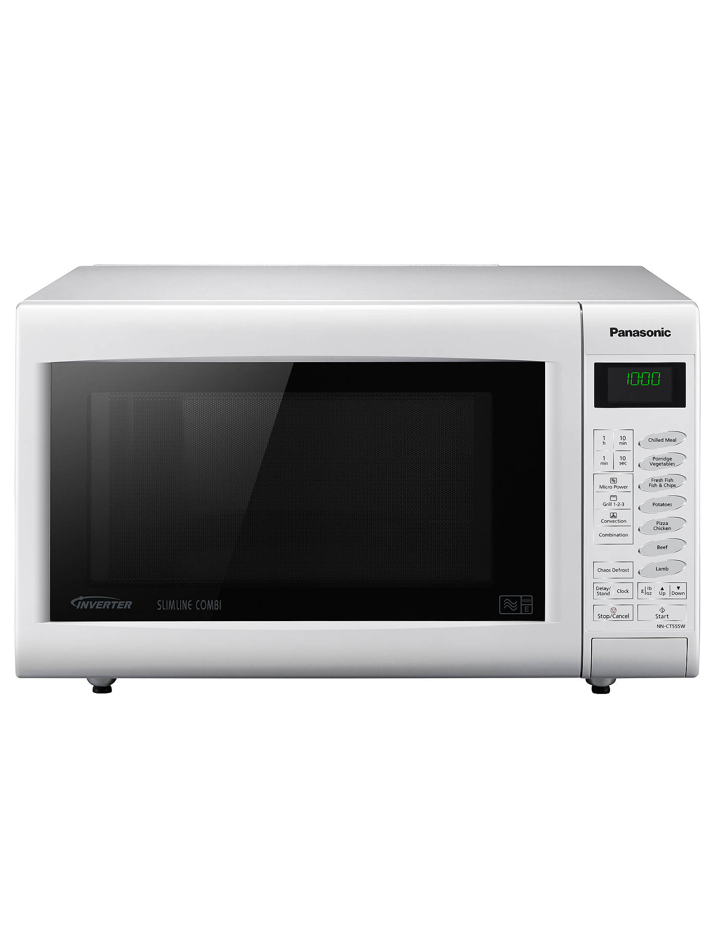 Panasonic Nn Ct555wbpq Combination Microwave Oven White Online At Johnlewis
