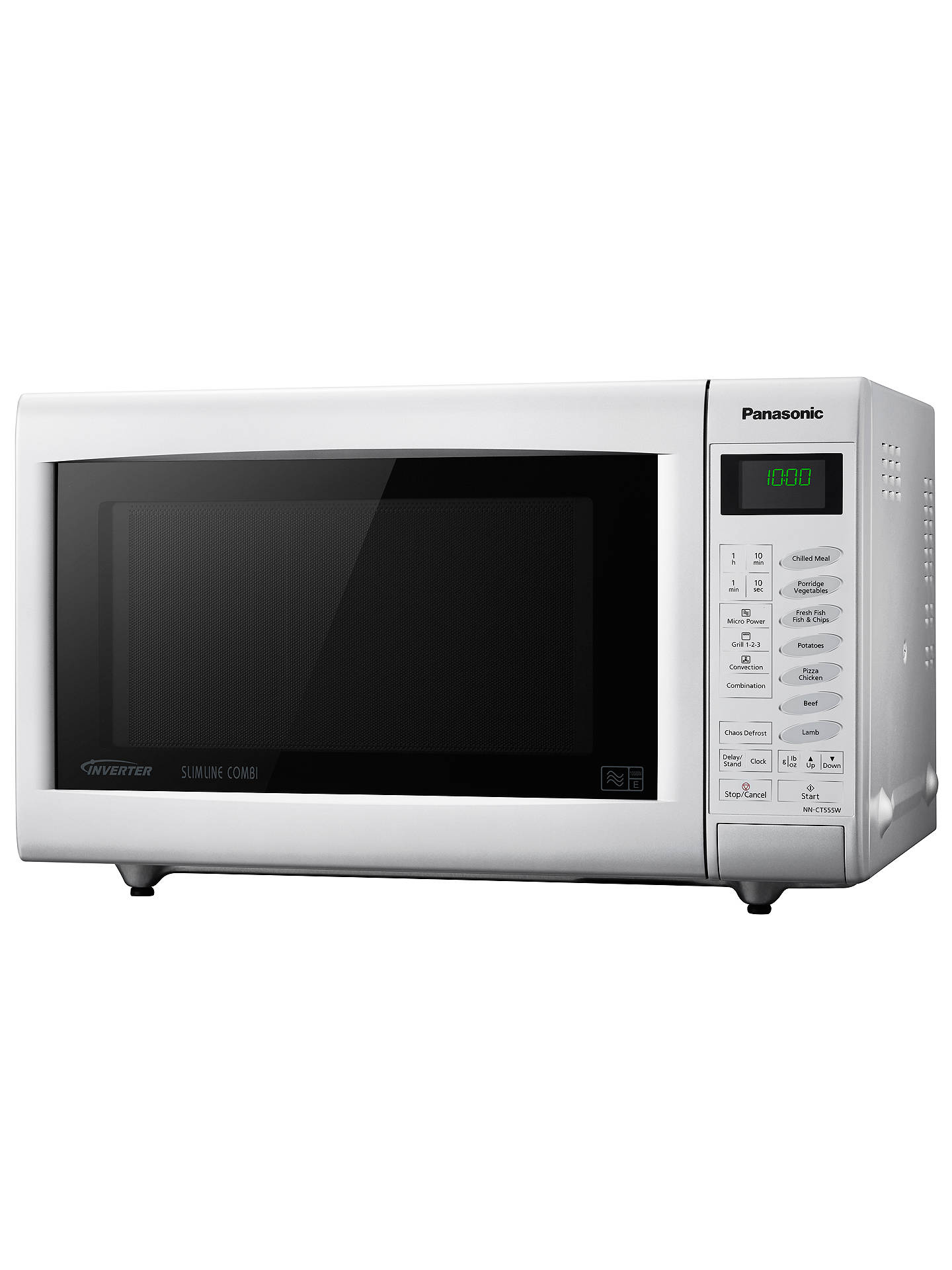 Buy Panasonic NN-CT555WBPQ Combination Microwave Oven, White Online at johnlewis.com