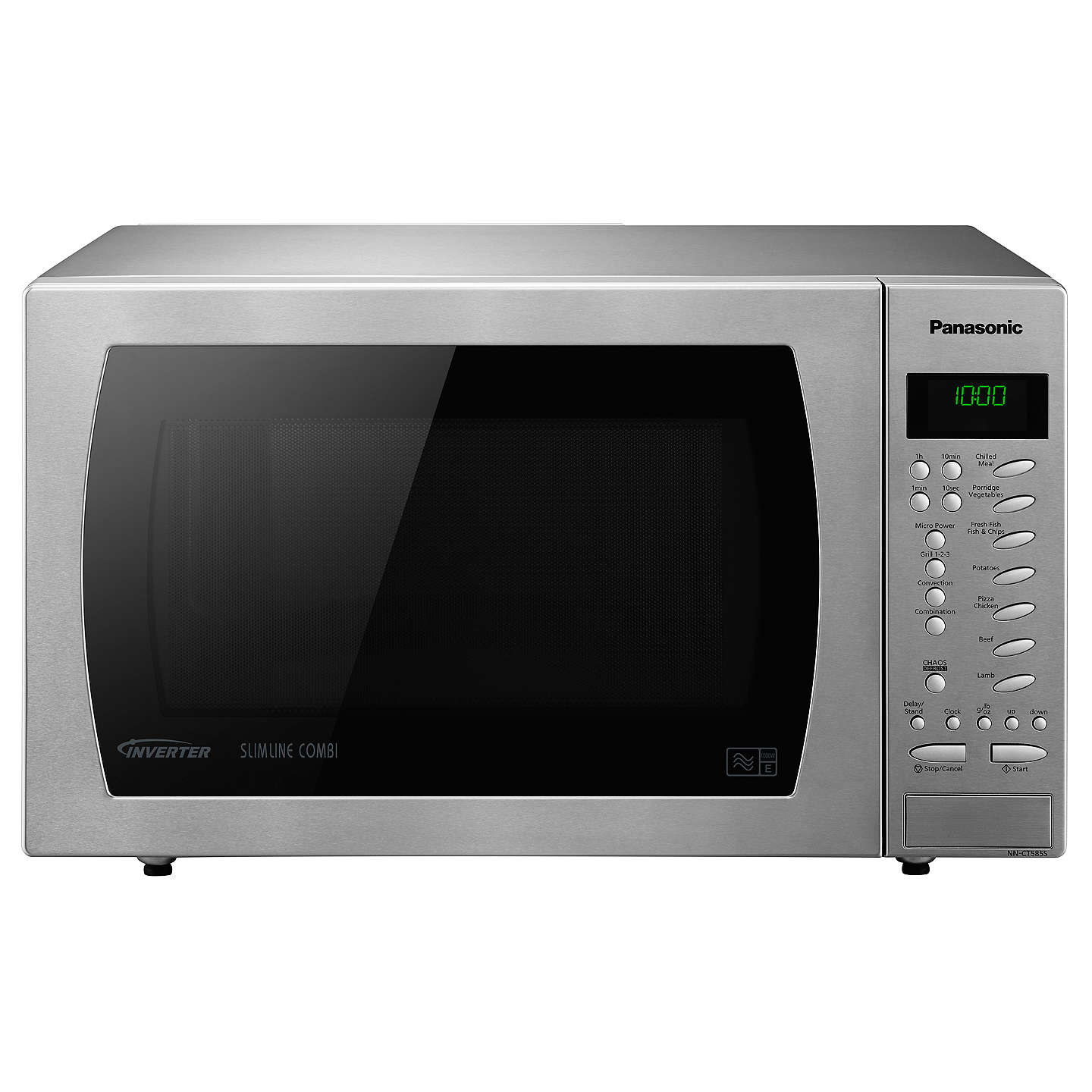 Panasonic Nn Ct585sbpq Freestanding Combination Microwave Oven Stainless Steel Online At Johnlewis