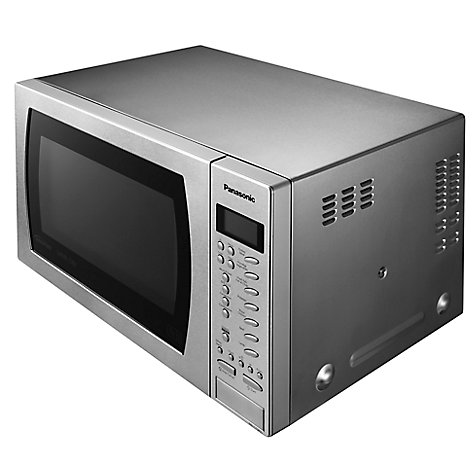 Panasonic Nn Ct585s Freestanding Combination Microwave Stainless Steel Online At Johnlewis