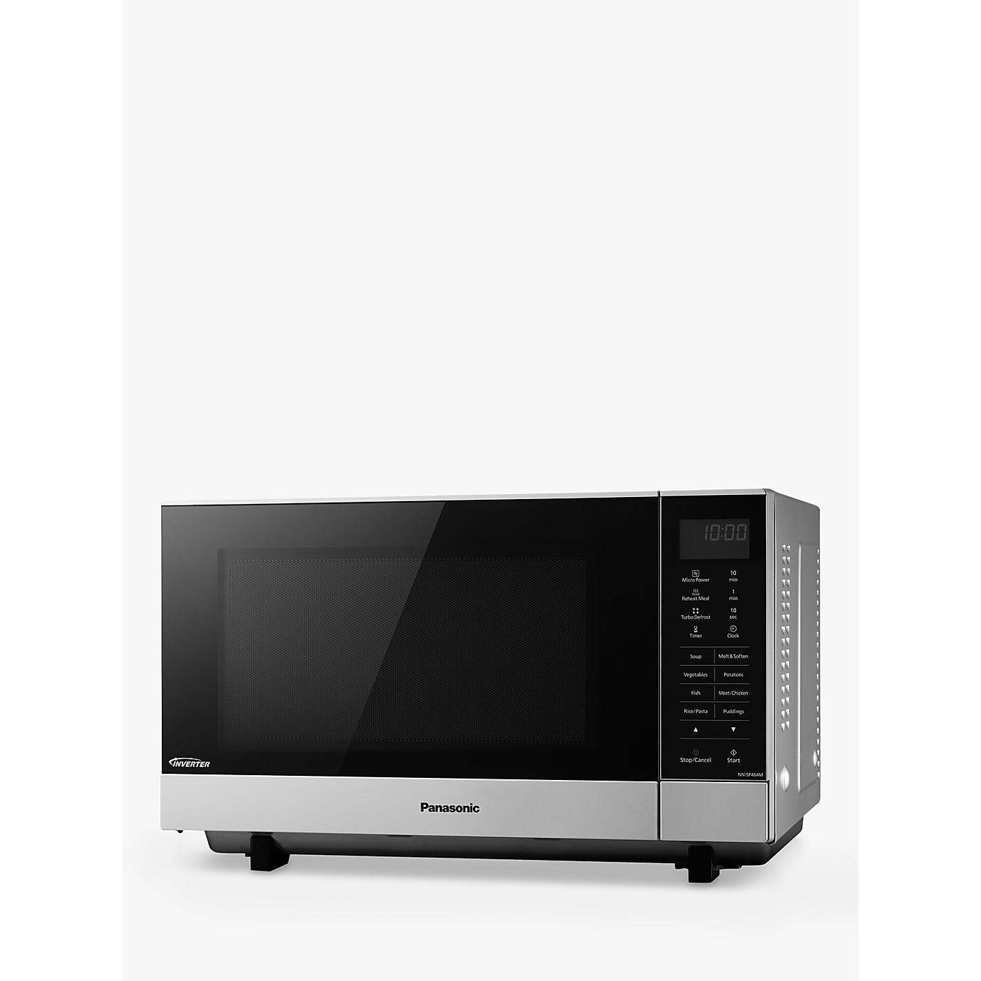 Panasonic Nn Sf464m Microwave Oven Silver Online At Johnlewis
