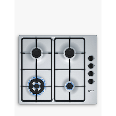 Image of Neff T26BR56N0 58cm Four Burner Gas Hob Stainless Steel