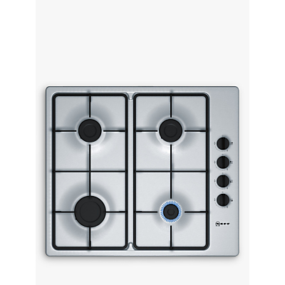 Image of Neff T26BR46N0 58cm Four Burner Gas Hob Stainless Steel