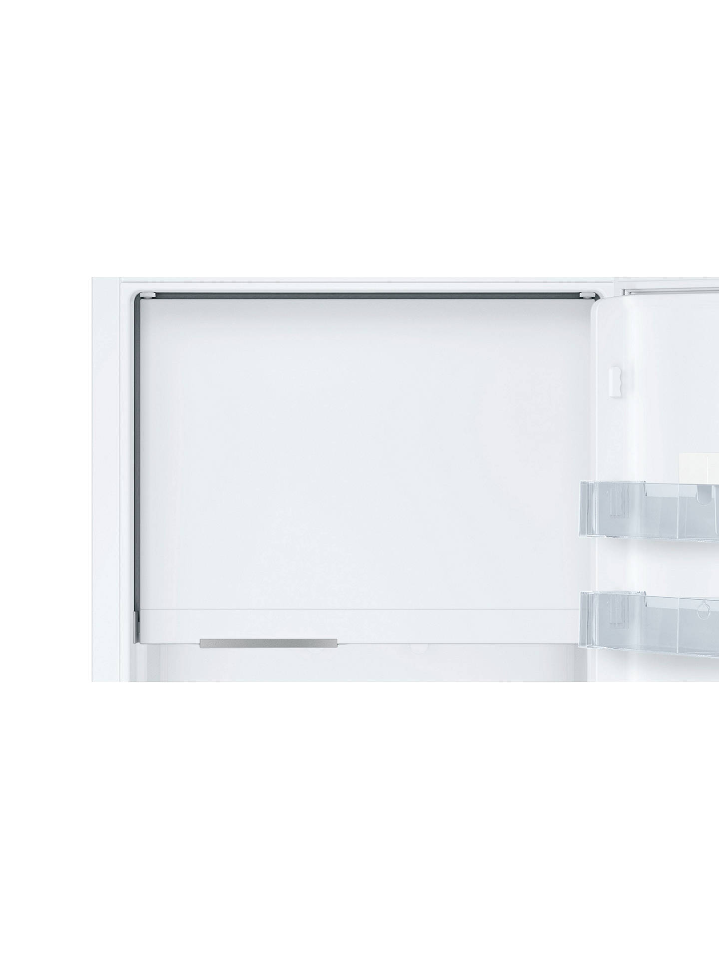 BuyNeff KI2823F30G Integrated Fridge, A++ Energy Rating, Right-Hand Hinge, 56cm Wide, White Online at johnlewis.com