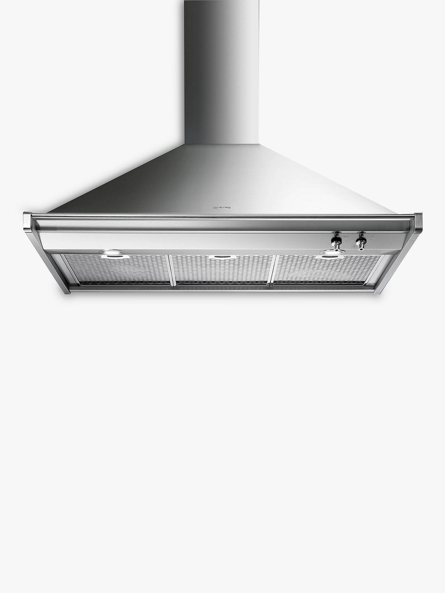 BuySmeg KD100XE Chimney Cooker Hood, Stainless Steel Online at johnlewis.com