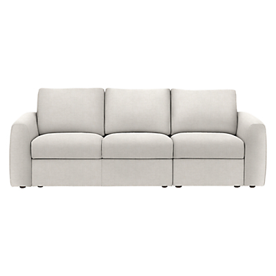 House by John Lewis Finlay II Grand 4 Seater Sofa, Fraser French Grey