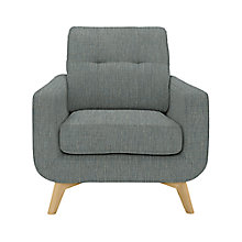 Buy John Lewis Barbican Armchair, Aquaclean Blake Slate Online at johnlewis.com