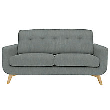 Buy John Lewis Barbican Medium 2 Seater Sofa, Aquaclean Blake Slate Online at johnlewis.com