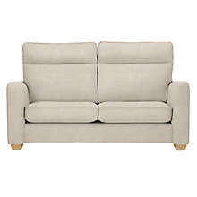 Buy John Lewis Walton II High Back Medium 2 Seater Sofa, Newlyn Putty Online at johnlewis.com