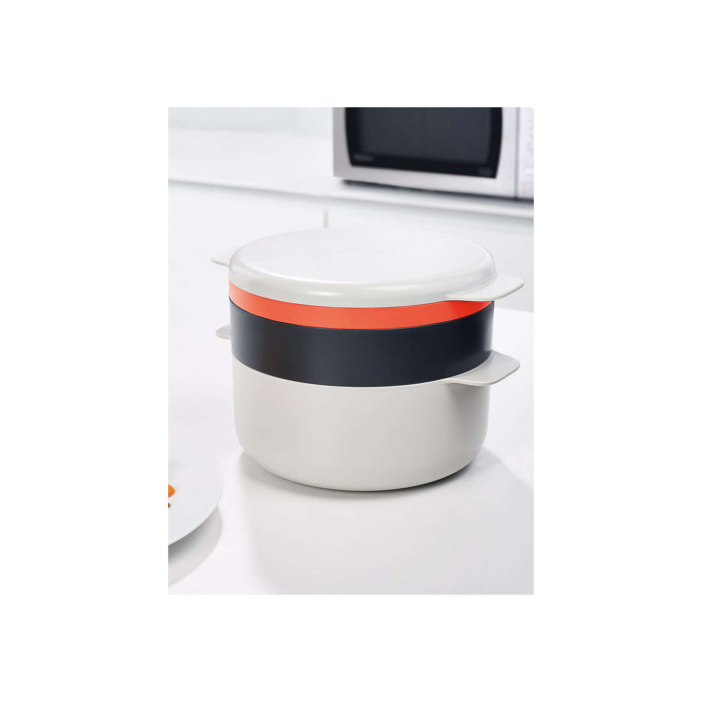 joseph joseph m cuisine 4 piece stackable cooking set at john lewis. Black Bedroom Furniture Sets. Home Design Ideas