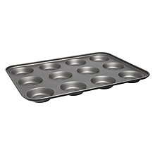 Buy John Lewis Basics 12 Cup Bun Sheet Online at johnlewis.com