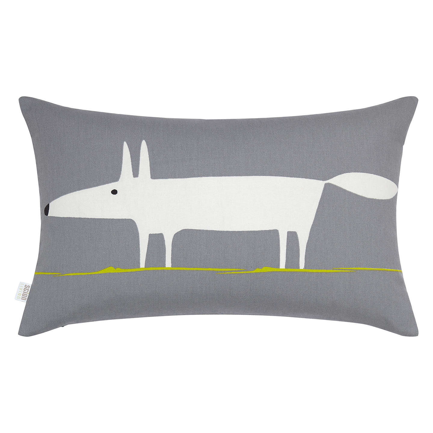BuyScion Mr Fox Cushion, Steel Online at johnlewis.com