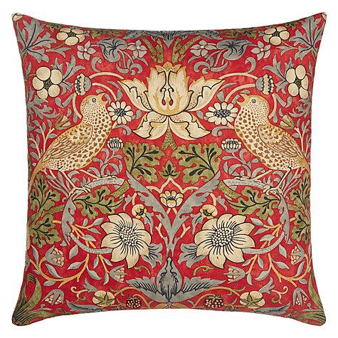 Buy Morris Amp Co Strawberry Thief Cushion John Lewis